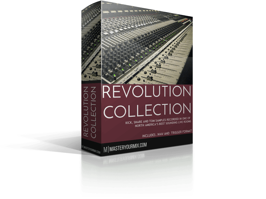 drum samples, .wav and trigger format, revolution collection