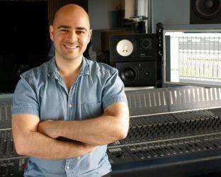 Mike Indovina, MasterYourMix, master your mix, studio, headshot, recording console, sound engineer
