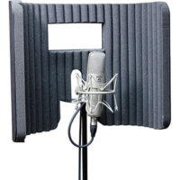 primacoustic voxguard, portable vocal booth, how to start a recording studio, how to record vocals