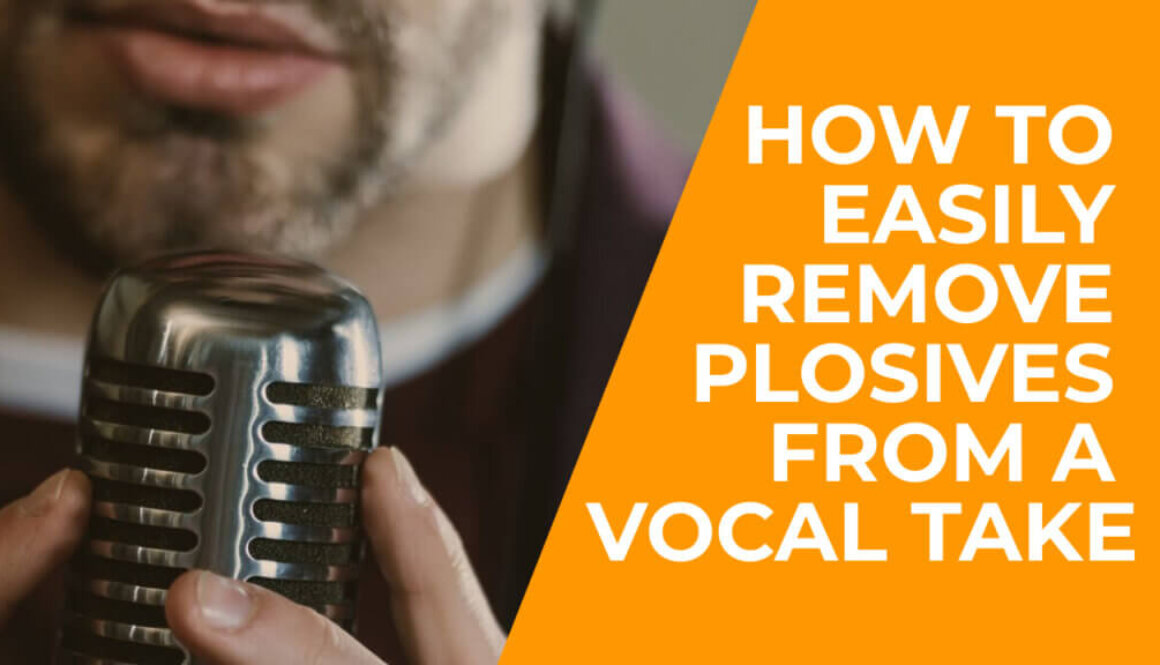 How To Remove Plosives From Vocals, video, cover, mixing tips